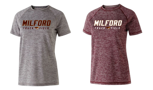Ladies Electrify Performance Tee - Milford Track & Field