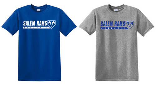 Basic Tee - Adult - Salem Rams Baseball