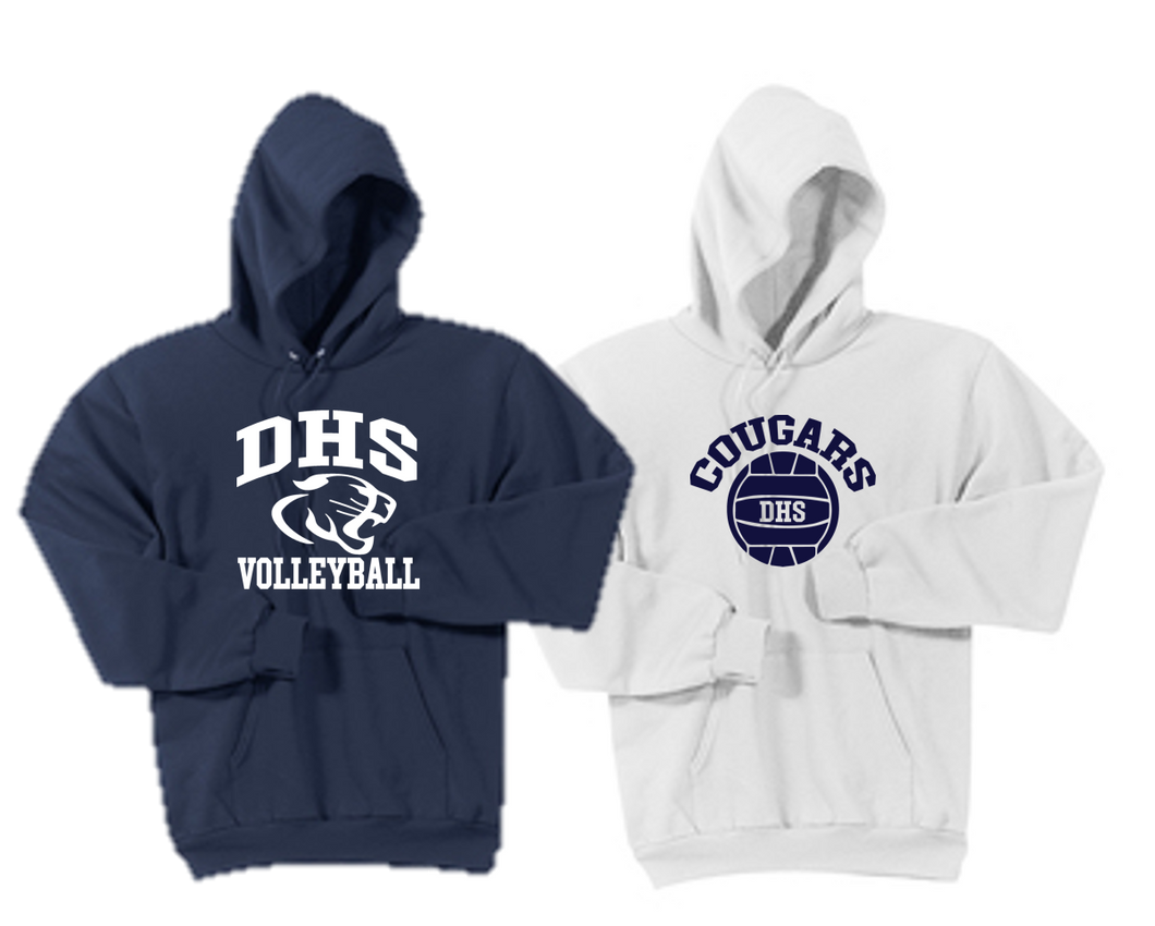 Hooded Sweatshirt - Adult - Delcastle Volleyball