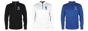 B-Core Lightwieght 1/4 Zip- Adult - Valley Central Football