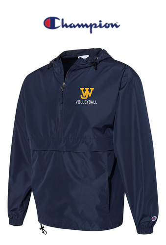 *Champion Packable Quarter-Zip Jacket - JAMES WOOD VOLLEYBALL