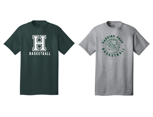 Basic Tee - Adult - Harding Prep Basketball