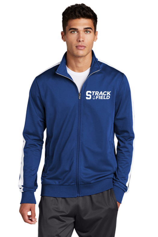 Tricot Track Jacket - Adult - Scituate Track and Field
