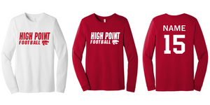 Fan Tee Long Sleeve - Adult - HP Regional Football