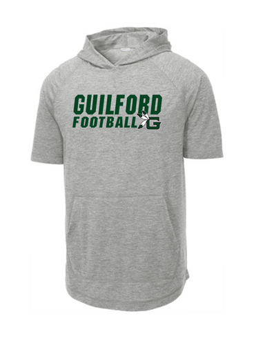Short Sleeve Hoodie - Guilford Football