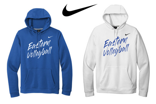 Nike Club Fleece Pullover Hoodie - Bristol Eastern Volleyball