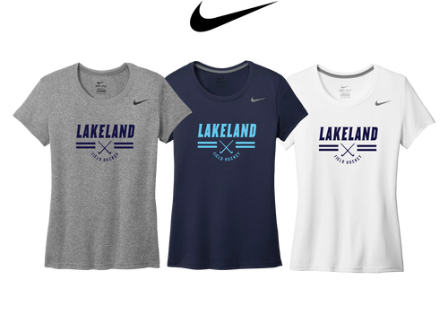 Ladies Nike Legend Tee - LAKELAND FIELD HOCKEY