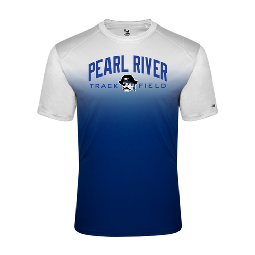 OMBRE TEE - Adult - Pearl River Track & Field