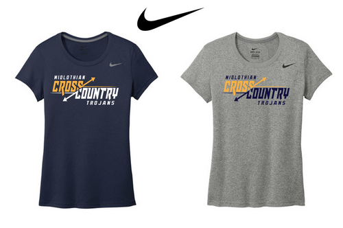 Ladies Nike Legend Tee - Midlothian XC
