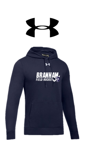 UA Hustle Fleece Hoodie - Branham Field Hockey