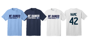 Adult Team Tee- MT. RAINIER FOOTBALL