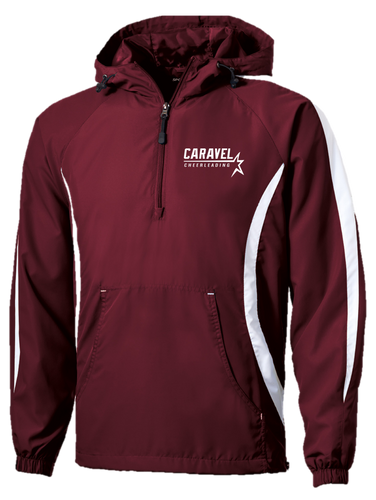 Raglan Anorak- Adult - Caravel Academy Cheer