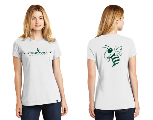 Ladies Heritage Blend Crew Tee - Little Falls Middle School