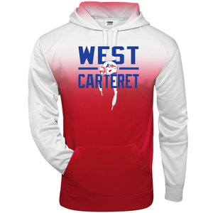 OMBRE HOODIE - West Carteret Football