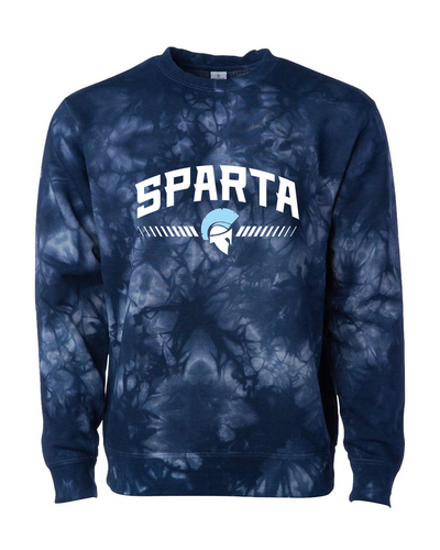 Midweight Tie-Dyed Sweatshirt - Sparta Class of 2024