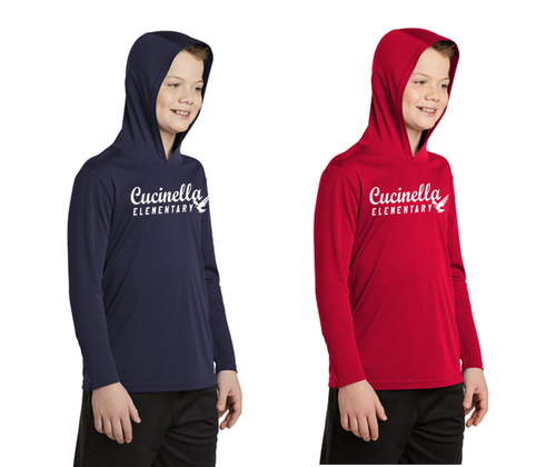 Hooded Long Sleeve - YOUTH - Cucinella Elementary