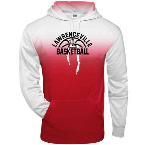 OMBRE HOODIE - Lawrenceville Basketball