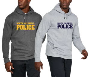 Men's UA Hustle Fleece Hoody  - NORTH CALDWELL POLICE