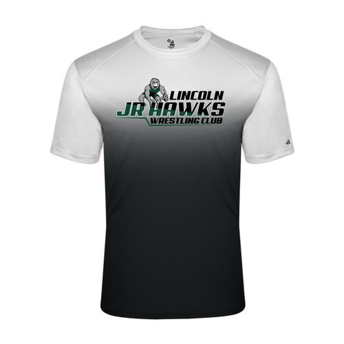 Ombre Performance Tee (Adult/Youth Sizes) - Lincoln JR Wrestling