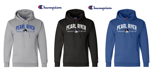 Champion Hooded Sweatshirt - Adult - Pearl River Track & Field