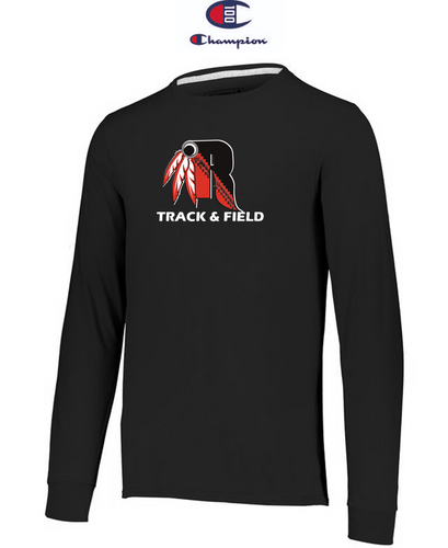 Champion Adult Long-Sleeve T-Shirt - Rahway Outdoor Track & Field