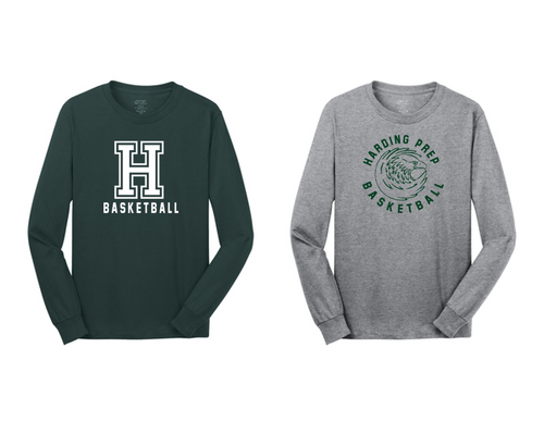 Basic Long Sleeve - Adult - Harding Prep Basketball