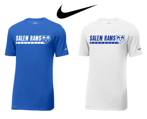 Nike Dri-FIT Tee - Adult - Salem Rams Baseball