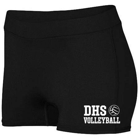 LADIES ENTHUSE SHORT - Delcastle Volleyball