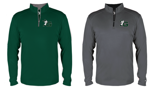 B-CORE Lightweight 1/4 Zip - Guilford Football