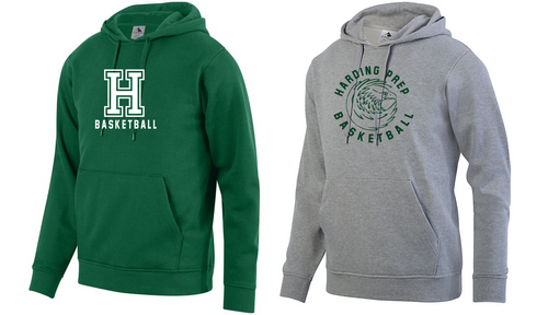 Hooded Sweatshirt - Adult - Harding Prep Basketball