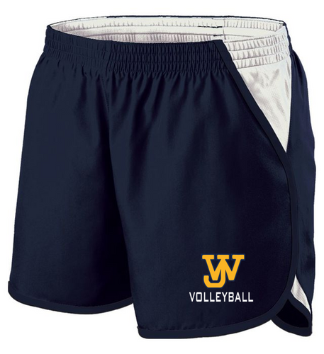 LADIES ENERGIZE SHORTS - JAMES WOOD VOLLEYBALL
