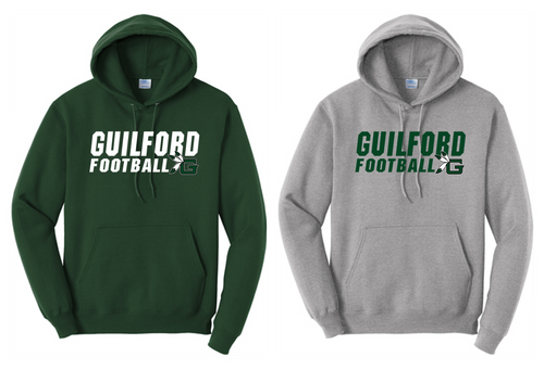Hooded Sweatshirt - Guilford Football