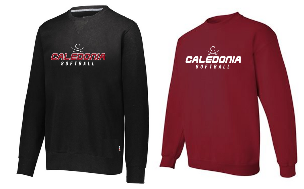 Gildan - Heavy Blend Crewneck - Caledonia Softball
