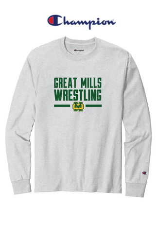 Champion Heritage Long Sleeve - Great Mills Wrestling