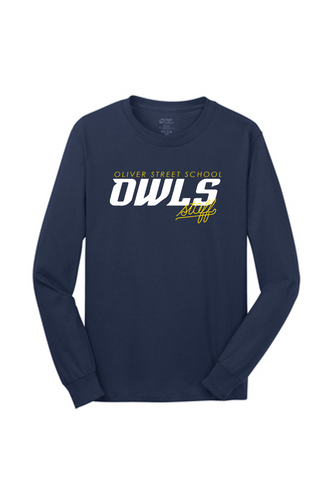 STAFF ONLY LONG SLEEVE - ADULT - Oliver Street School