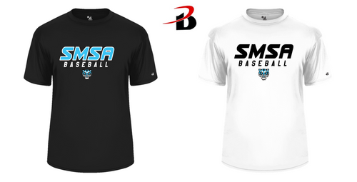 BADGER-CORE TEE - SMSA BASEBALL