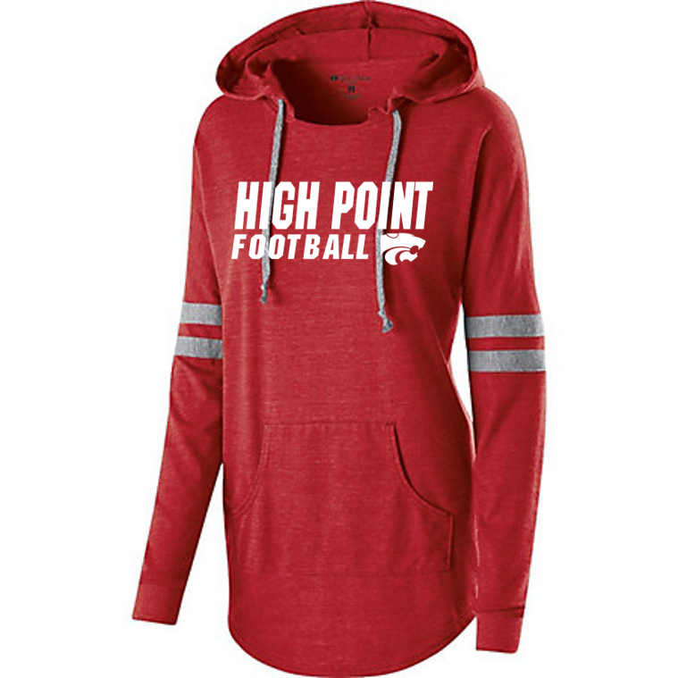 LADIES HOODED LOW KEY PULLOVER - HP Regional Football