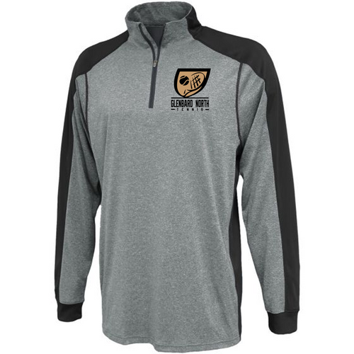 Carbon 1/4 Zip - Adult - Glenbard North Tennis