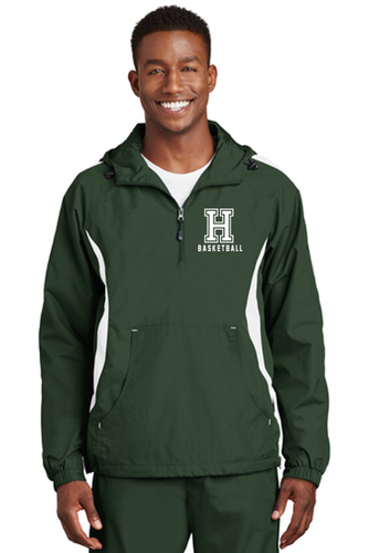 *Colorblock Raglan Anorak - Adult - Harding Prep Basketball