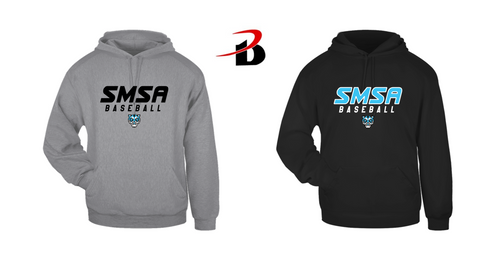 BADGER HOODED SWEATSHIRT - SMSA BASEBALL