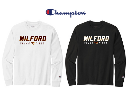 Champion Heritage 5.2-Oz Long Sleeve - Adult - Milford Track & Field
