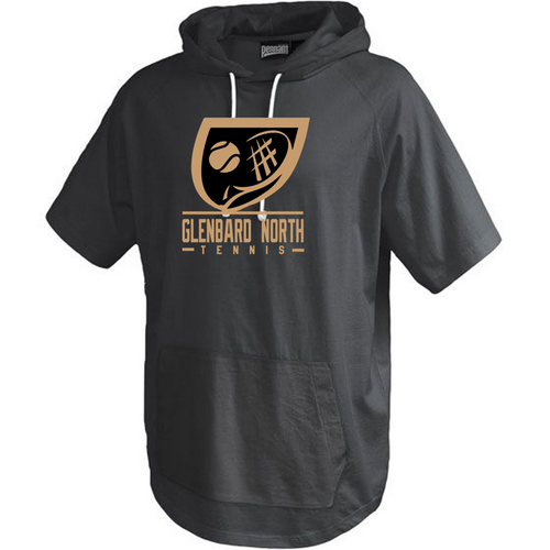 Short Sleeve Trainer Hoodie - Adult - Glenbard North Tennis