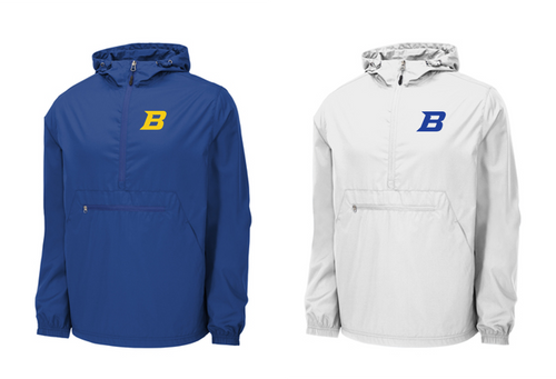 *Packable Anorak Windbreaker - Bluestem Football