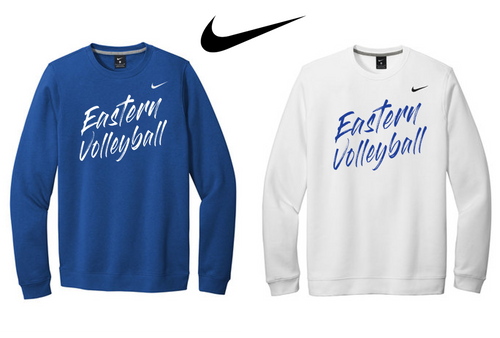 Nike Club Fleece Crew - Bristol Eastern Volleyball