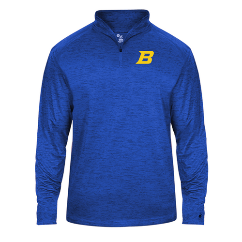 Lightweight Tonal Blend 1/4 Zip - Bluestem Football