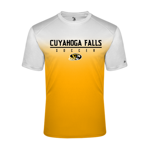 OMBRE PERFORMANCE TEE - Cuyahoga Falls Soccer