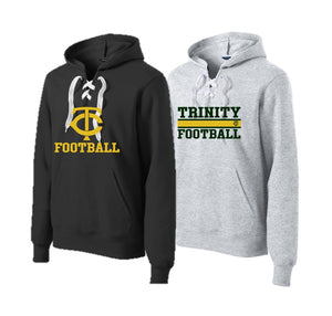Adult Lace Up Pullover - Trinity Football