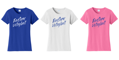 Ladies Fan Favorite Tee - Bristol Eastern Volleyball
