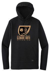 New Era Tri-Blend Hooded Long Sleeve - Adult - Glenbard North Tennis