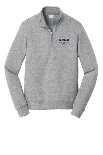 Fan Favorite Fleece 1/4-Zip Pullover Sweatshirt - LAKELAND FIELD HOCKEY